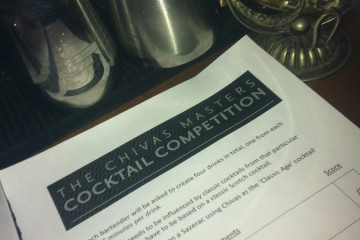 The Chivas Masters Cocktail Competition, Bristol Heat