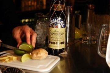 Winter warming rum