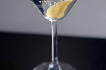 A martini with a twist