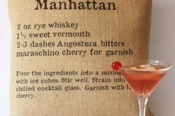 Cocktail Cushion