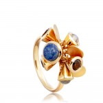 'Fanfare' cocktail ring, £95, www.astleyclarke.com