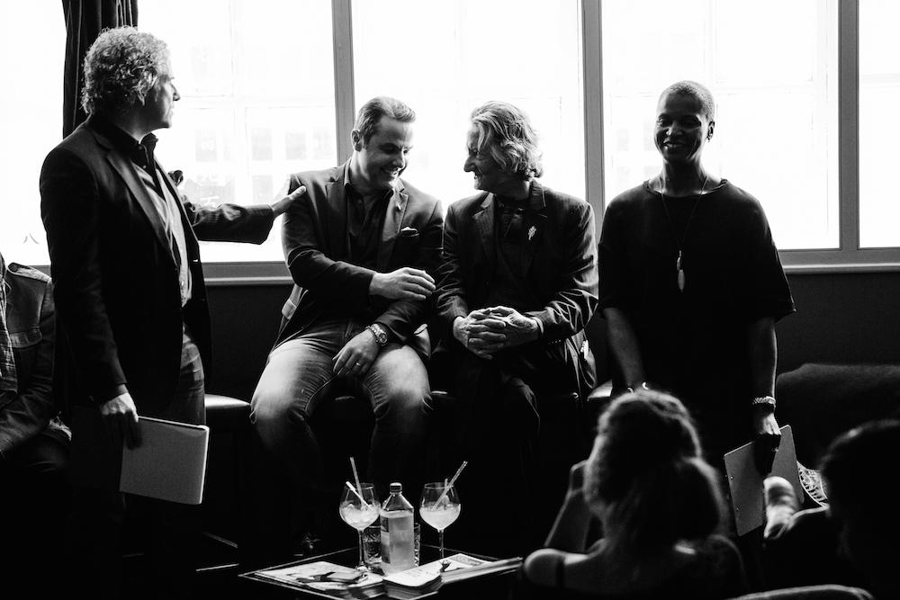 Gary Sharpen, Philip Duff, gaz regan & Sandrae Lawrence