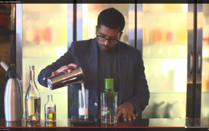 Ryan Chetiyawardana creates a cocktail in honour of Pablo Picasso