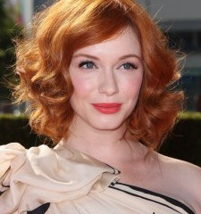 Whisky drink Christina Hendricks
