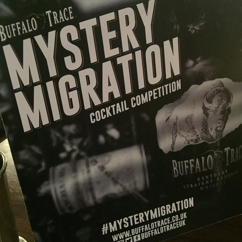 Buffalo Trace Mystery Migration Cocktail Competition