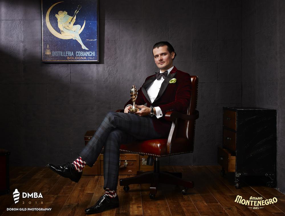 Erik Lorincz, DMBA International Bartender of the Year