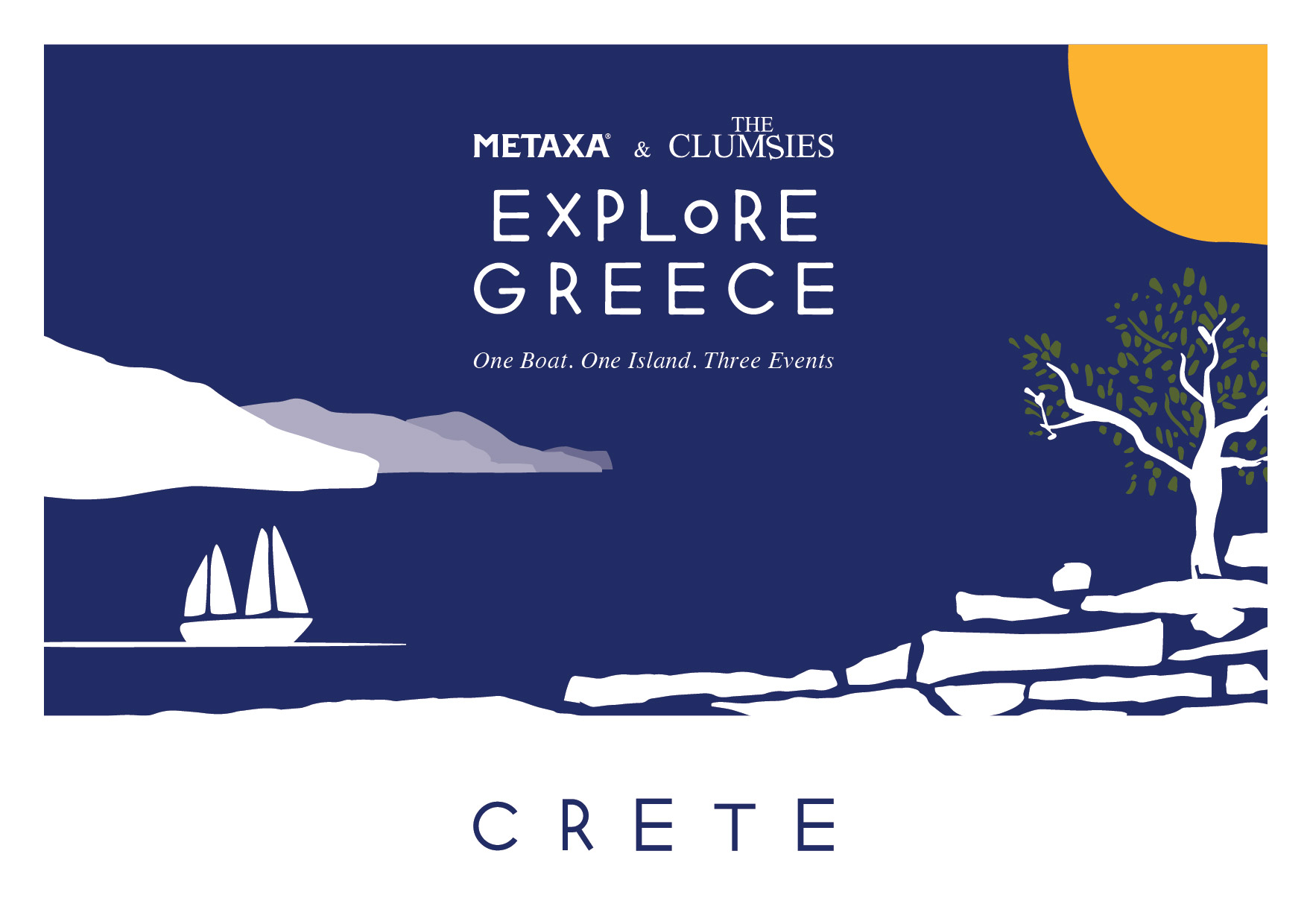 Explore Greece with Metaxa and The Clumsies