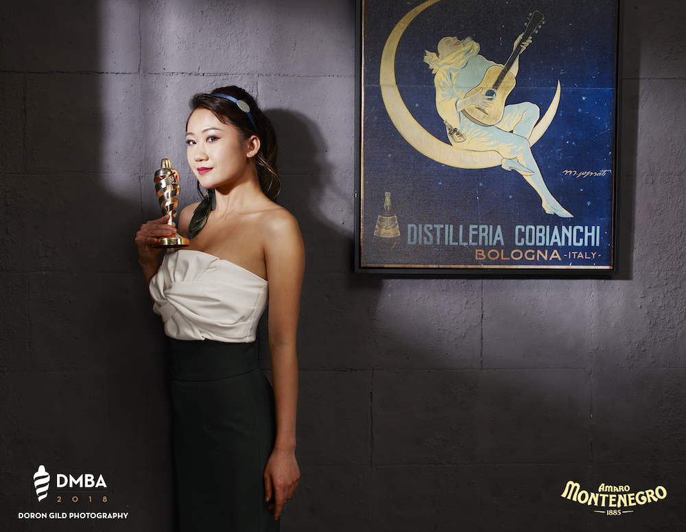 Jackie Lo, DMBA Bartender of the Year (China)