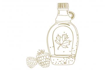 Chivas Seasonal Serves blackberry and maple shrub