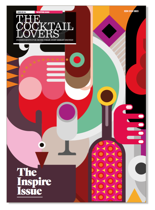 The Cocktail Lovers Magazine Issue 34 Cover